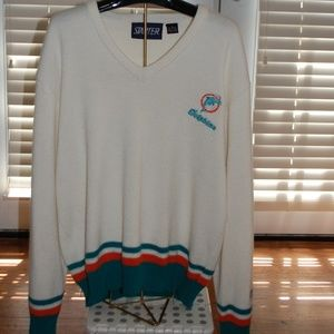 Miami Dolphins Starter sweater with retired Logo
